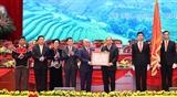 Thủ tướng Chính phủ Nguyễn Xuân Phúc: Cơ đồ đất nước mãi thuộc về cộng đồng các dân tộc Việt Nam TTXVN
