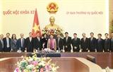 Председатель НС Нгуен Тхи Ким Нган приняла Послов и Глав Представительств Вьетнама за рубежом
