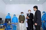 Kiểm tra công tác phòng chống dịch bệnh tại các khu công nghiệp và thành phố Phúc Yên của tỉnh Vĩnh Phúc