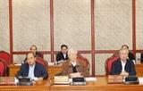 베트남공산당 정치국 당지부대회에 제13기 당대회 문건 초안 완성 의견 제출