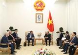 Thủ tướng Chính phủ Nguyễn Xuân Phúc tiếp Chủ tịch Cơ quan Chống tham nhũng Liên bang Nga 