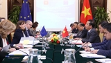 Thông cáo báo chí chung về cuộc họp lần thứ nhất Tiểu ban các vấn đề chính trị Việt Nam – Liên minh châu Âu