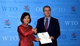 Việt Nam cam kết tiếp tục phối hợp tích cực chặt chẽ với WTO