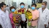 胡志明市大水镬医院治愈患有新型冠状病毒感染肺炎的两名中国公民