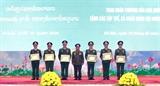 Trao tặng Huân chương của Nhà nước Việt Nam Nhà nước Lào