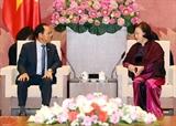 국회의장 신임 주베트남 한국대사를 접견