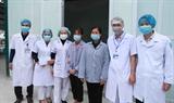Hai mẹ con nhiễm bệnh tại Vĩnh Phúc đã được xuất viện