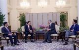 Сингапур желает активизировать всестороннее сотрудничество с Вьетнамом