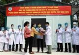 Bệnh nhân thứ 16 nhiễm virus SARS-CoV-2 tại Việt Nam xuất viện