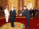 Tổng Bí thư Chủ tịch nước Nguyễn Phú Trọng tiếp các Đại sứ trình Quốc thư