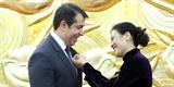 Trao Kỷ niệm chương Vì hòa bình hữu nghị giữa các dân tộc tặng Đại sứ Azerbaijan tại Việt Nam