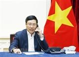Dialoga Vietnam con Corea del Sur sobre lucha contra COVID-19