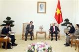Thủ tướng: Việt Nam sẵn sàng hợp tác với Nhật Bản phòng chống dịch COVID-19