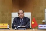 응우옌 쑤언 푹 총리 코로나 19 대응 관련 G20 화상 정상회의 참석