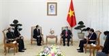 Thủ tướng Nguyễn Xuân Phúc tiếp Đại sứ Campuchia