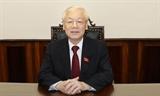 Tổng Bí thư Chủ tịch nước Nguyễn Phú Trọng: Chung sức đồng lòng để chiến thắng đại dịch COVID-19