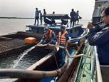Жителям провинций Бенче и Тиензянг страдающим от засухи и засоления почв доставили пресную воду