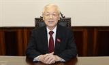 越共中央总书记阮富仲:同心协力打赢新冠肺炎疫情阻击战