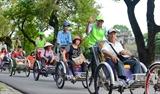 Экскурсия по городу Хюэ на велорикше