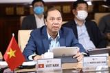 Hội nghị trực tuyến Nhóm Công tác trực thuộc Hội đồng Điều phối ASEAN về ứng phó các tình huống y tế công cộng khẩn cấp