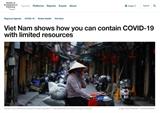 ເວັບໄຊ WEF: ຫວຽດນາມ ກາຍເປັນ ປາພະຄານ ກ່ຽວກັບການຮັບມືກັບໂລກລະບາດ Covid - 19