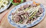 Măng trúc Yên Tử xào thịt bò