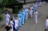 Hà Nội khẩn trương rà soát những người liên quan ổ dịch tại Bệnh viện Bạch Mai