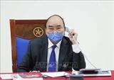 Премьер-министр Нгуен Суан Фук провел телефонный разговор c Президентом Южной Кореи Мун Чжэ Ином