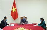 Thủ tướng Nguyễn Xuân Phúc điện đàm với Tổng thống Hàn Quốc trao đổi về tình hình phòng chống dịch COVID-19