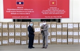 Лаосская сторона высоко оценила поддержку Вьетнама в борьбе с COVID-19