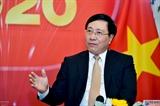 Вице-премьер глава МИД Вьетнама отметил дипломатических работников Вьетнама за рубежом