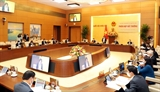 Ủy ban Thường vụ Quốc hội họp bất thường để cho ý kiến về các biện pháp hỗ trợ người dân