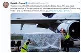 미국 트럼프 대통령 코로나19 대응에 대한 베트남 협력에 감사 표명