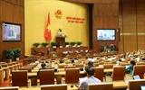 Sixième jour de travail de la 9ème session de lAN (14e législature)