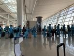 한국발 340여 명 베트남 국민 무사히 귀국