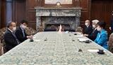 Chủ tịch Thượng viện Nhật Bản đánh giá cao sự đồng lòng của người dân Việt Nam trong chống dịch COVID-19