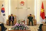 Tăng cường hợp tác quốc phòng Việt Nam - Hàn Quốc