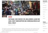 COVID-19 : un média allemand analyse les succès du Vietnam