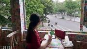 Quán cafe Km số 0 của Hà Nội đong đầy cảm xúc
