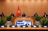 Chủ tịch UBND thành phố Hà Nội chia sẻ kinh nghiệm phòng chống dịch COVID-19 với các thị trưởng trên thế giới