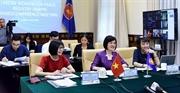 ASEAN 2020: Trao đổi thông tin các sáng kiến liên quan đến phụ nữ hòa bình và an ninh