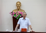 Thường trực Ban Bí thư: Đảng bộ Bình Thuận cần quan tâm thường xuyên công tác xây dựng Đảng và hệ thống chính trị 
