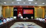 Thủ tướng Nguyễn Xuân Phúc kiểm tra tiến độ giải ngân vốn đầu tư công tại Ninh Bình