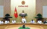 Thủ tướng Chính phủ Nguyễn Xuân Phúc chủ trì phiên họp Chính phủ về công tác xây dựng thể chế
