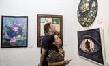 Triển lãm Tìm về 2020 - Khoảng Lặng: Nơi sáng tạo của các họa sĩ trẻ