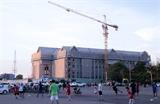 베트남이 선물한 라오스 국회의사당 공사 순조