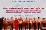 Công nhận Tập quán xã hội và tín ngưỡng Tết Nguyên tiêu của người Hoa là Di sản văn hoá phi vật thể quốc gia