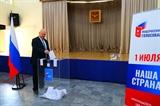 러시아 헌법 개정안 투표 베트남에서도 실시
