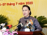 Chủ tịch Quốc hội Nguyễn Thị Kim Ngân dự khai mạc Kỳ họp thứ 15 Hội đồng nhân dân thành phố Hà Nội