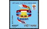 Emiten juego de timbres Vietnam da la bienvenida al Año ASEAN 2020
